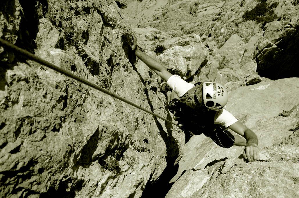 Ricardo Montoro escalada
