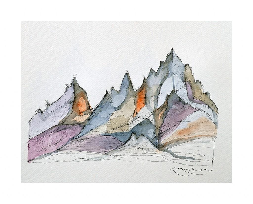 montañas, montagnes