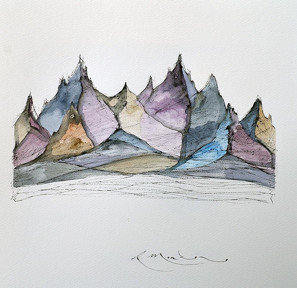 montañas, mountains