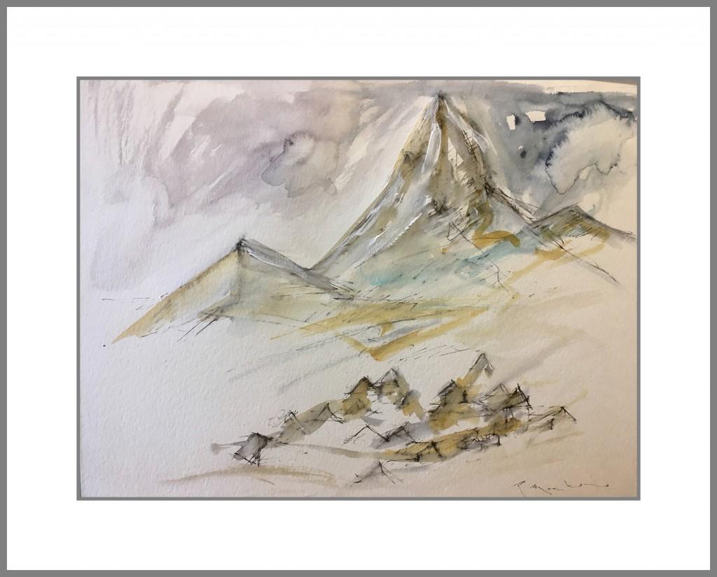 la montaña y sus habitantes