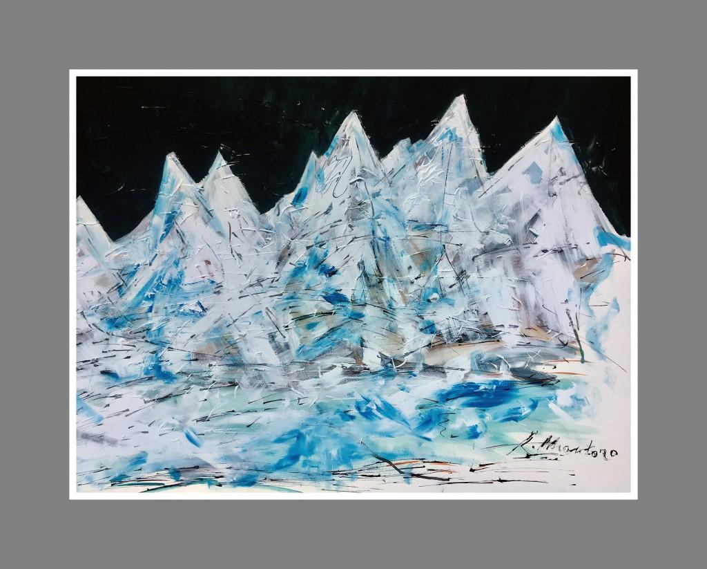 montañas heladas
